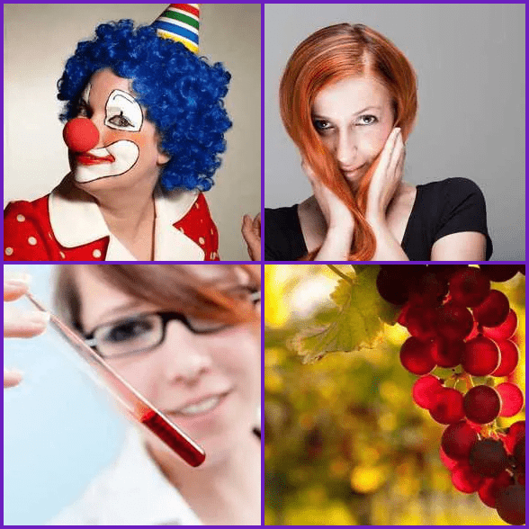 4 Pics 1 Word –  RED answer