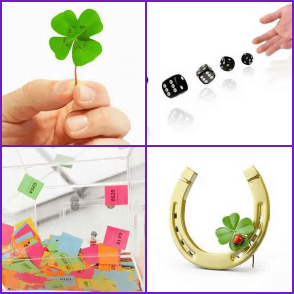 4 Pics 1 Word –  LUCK answer