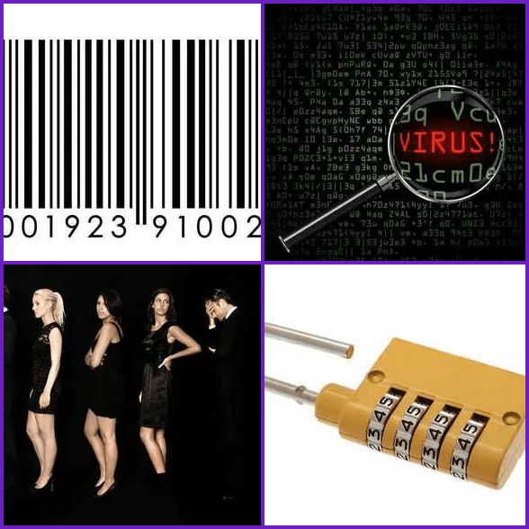 4 Pics 1 Word –  CODE answer