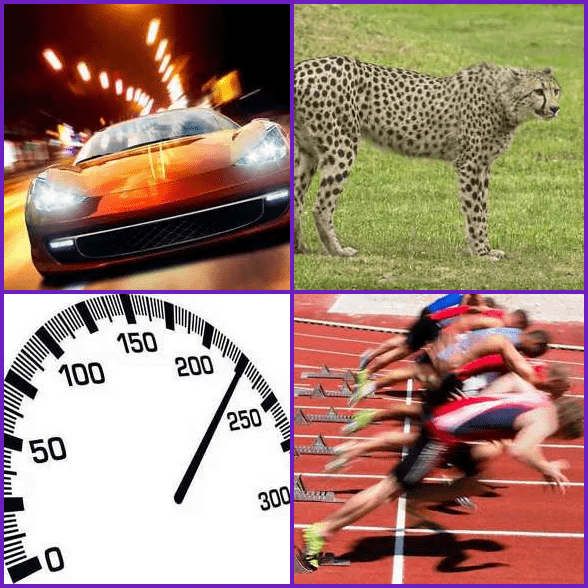 4 Pics 1 Word –  FAST answer