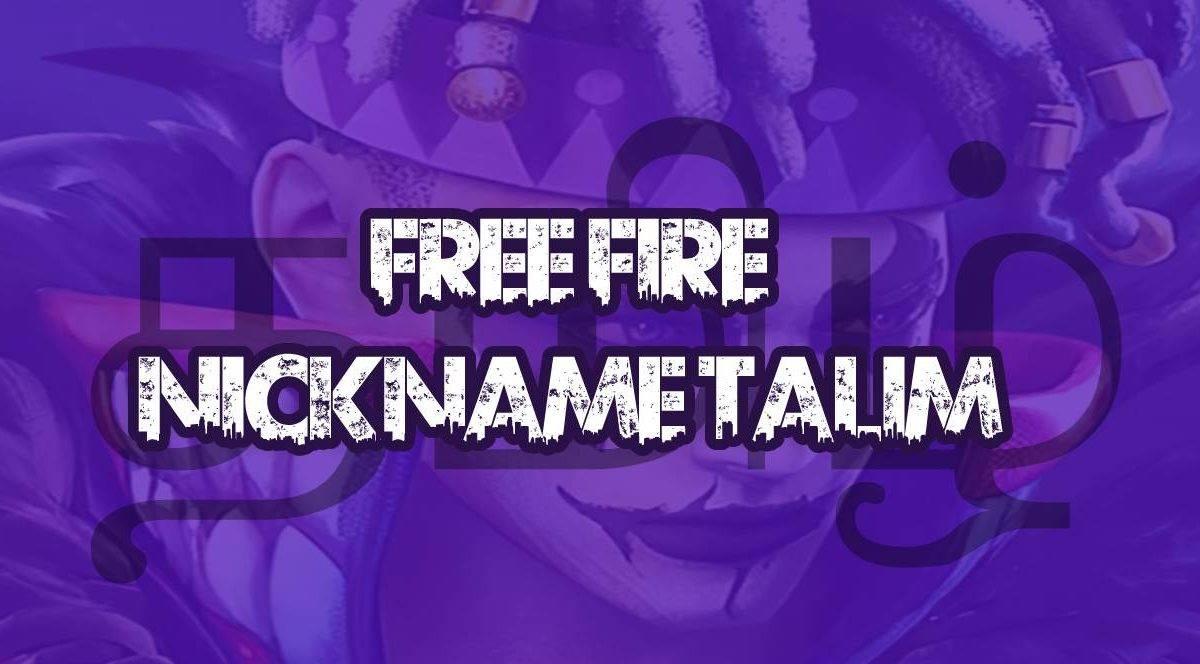 Free Fire nickname tamil – names in tamil