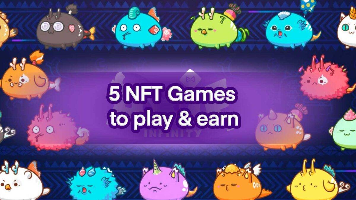 5 NFT games to play today and earn some money