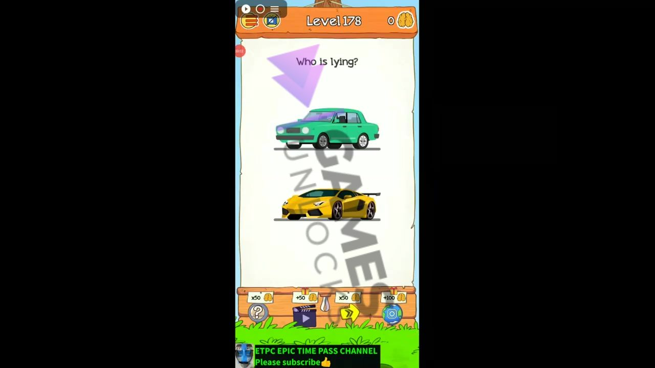 Braindom 2 Level 178 Which car is more expensive Answer